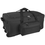 Mercury Luggage Mini Monster Wheeled Deployment Bag Black