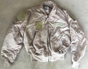 USGI USAF Nomex CWU 36/P TAN Summer Weight Flight Jacket XL_THUMBNAIL