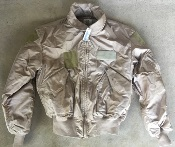 USGI ISSUE Nomex CWU 45/P TAN  Desert  Flight Jacket Extra-Large_THUMBNAIL