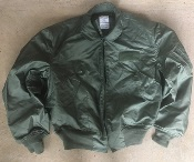 USGI Nomex CWU 36/P OD Flight Jacket Extra-Large_THUMBNAIL