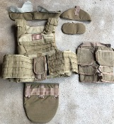 Paraclete Releasable Kevlar IIIA Body Armor w Accessories