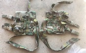 IOTV Side Plate Carrier with all straps Multicam