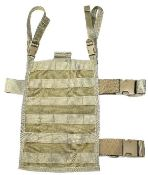 Eagle Industries Drop Leg/Belt Molle Panel Khaki DFLCS_THUMBNAIL