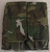 Eagle Industries MULTICAM Double Double M4 Magazine Pouch Holds 4