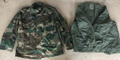 USGI Aircrew Field Jacket with Liner  Woodland Nomex
