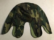 UH-367 Vietnam War Era US Early ERDL Camo Helmet Cover THUMBNAIL