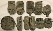 London Bridge Trading (LBT) Lot of 11 Tactical Ammo/Utility Pouches