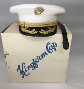 US Marine Corp Field Officer Dress White Cap