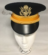 US Army Male Company Grade Officer ASU Kingsform Service Cap THUMBNAIL