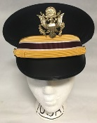 US Army Male Company Grade Officer ASU Service Cap THUMBNAIL