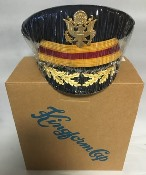 US Army Male Field Officer Grade ASU Service Cap