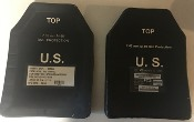 US Military Ceradyne, Inc. EAPI Plates