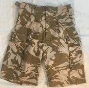 Genuine Issue British DPDM Army Tropical UBACS Combat Shorts THUMBNAIL