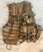 Genuine Issue British DPDM Army Tropical Tactical Load Carrying Vest w Pouches