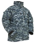US Navy NWU Blue Digital 'Blueberry' Utility Gore-Tex Parka THUMBNAIL