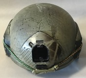 MSA FAST OPS CORE Sentry XP Mid Cut Ballistic Helmet with Wilcox 1 Hole Shroud_THUMBNAIL
