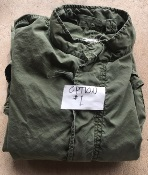 Vietnam Era USGI M-1965 Fishtail Parka WITH Liner AND HOOD! Med/Reg 1970 Used Very Good