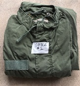 Vintage USGI M-1965 Fishtail Parka WITH Liner! Med/Reg 1978 Used w small repairs THUMBNAIL