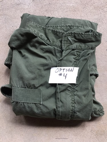 Vintage USGI M-1965 Fishtail Parka WITH Liner! Med/Reg 1985 w small repairs THUMBNAIL