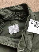 Vintage Vietnam Era USGI M-1965 Fishtail Parka WITH Liner AND HOOD! Med/Reg 1970 Used