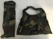 USGI M40 & M42 Series Military Gas Mask Woodland BDU Camouflage Hose and.or Cover THUMBNAIL