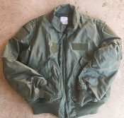 USGI ISSUED Nomex CWU 45/P OD Flight Jacket Large_THUMBNAIL
