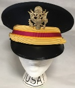 US Army ASU Military Dress Blue Company Grade Officer Kingsform Cap_THUMBNAIL