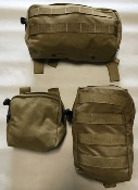 Paraclete  General Purpose Utility Pouches, Set of THREE_THUMBNAIL