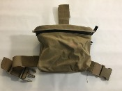 Battlelab Dump Breach Pouch Mounted with IIIA Armor sewn inside back_THUMBNAIL