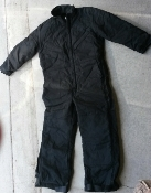 Dakota Outerwear Quilt Lined Insulated Coverall Black_THUMBNAIL