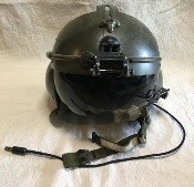 US Military  SPH-4 Airmen Aircrew Helmet with all Comms 'Regular' Green_THUMBNAIL