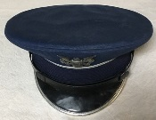 USAF USAFA US Air Force Academy Cadet Dress Blue Cap THUMBNAIL