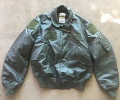 USGI Nomex CWU 36/P OD Flight Jacket Large_THUMBNAIL