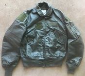 USGI Nomex CWU 36/P OD Flight Jacket Medium_THUMBNAIL