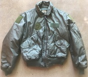 USGI ISSUED Nomex CWU 45/P OD Flight Jacket Large THUMBNAIL