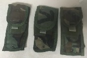 Lot of THREE Specialty Defense M4 Double Mag Pouch THUMBNAIL