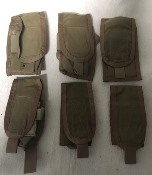 Paraclete Lot of SIX M16 M4 Magazine Pouches_THUMBNAIL