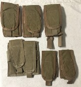 Paraclete Lot of SIX M16 M4 Magazine Pouches THUMBNAIL