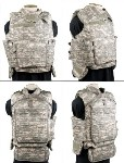 ACU Digital  IOTV Tactical Vest INCLUDES  Kevlar Inserts