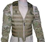 USMC Coyote Brown Specialty Defense FLC Vest THUMBNAIL