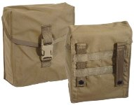 200 Round SAW Pouch Coyote Tan MOLLE  Ammo Pouch