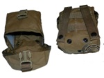 100 Round SAW Pouch Coyote Tan MOLLE Ammo Pouch