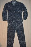 US Navy NWU Type I Blueberry Utility Uniforms