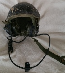 USGI Kevlar CVC Helmet DH-132 w all Comms