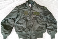 USGI Issue Nomex CWU 45/P OD Flight Jacket Small