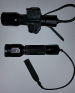 Pelican M6 Lithium Torch Flashlight w Accessories!