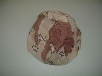 USGI 6 Color Chocolate Chip Parachutist Helmet Cover THUMBNAIL