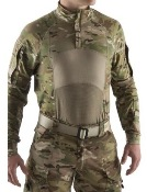 Massif Multicam Enhanced Type II 3/4 Zip Combat Shirt FR