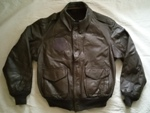 USAF A2 Leather Flight Jacket with Zip out Liner THUMBNAIL