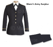 USGI Women's NCO ASU Dress Blue Set THUMBNAIL